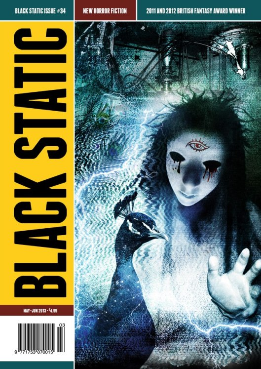 Black Static 34 Cover