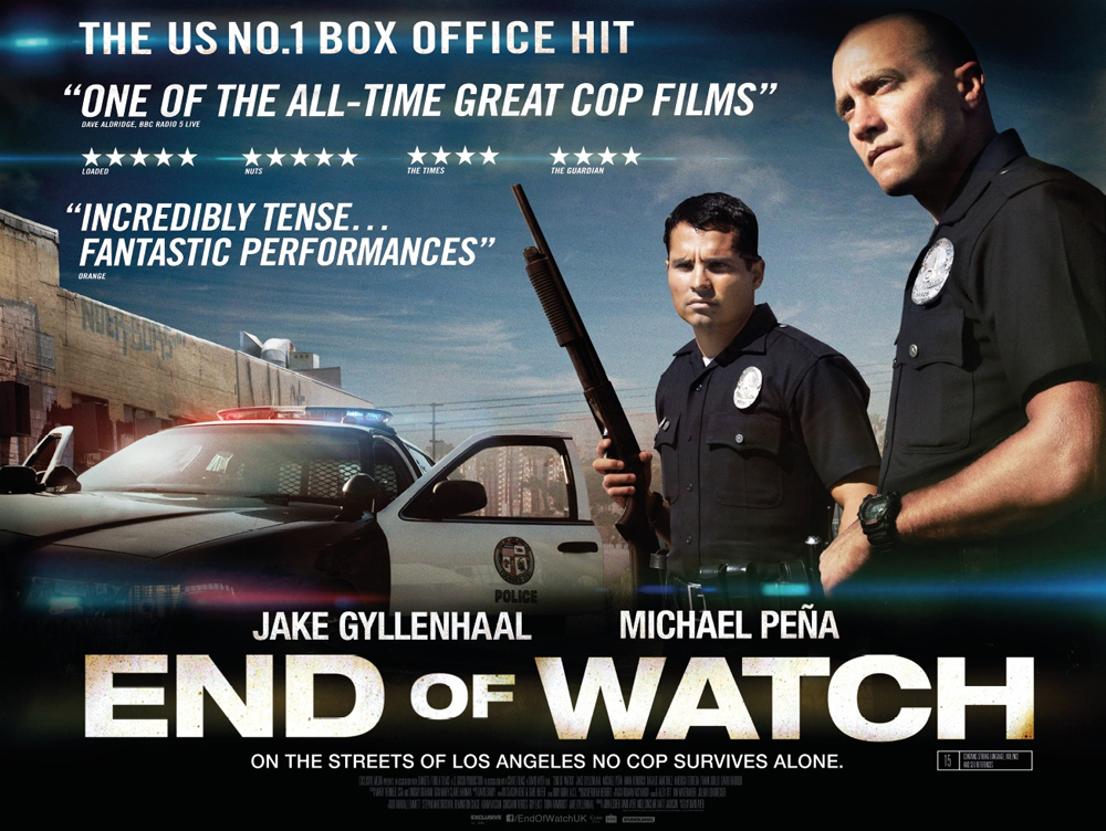 End of Watch Movie Poster End-of-watch-uk-quad-poster